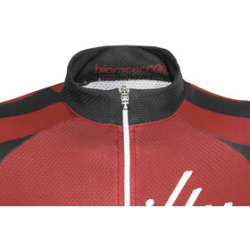 guilty 76 racing Velo Club Pro Race Jersey Dames, red